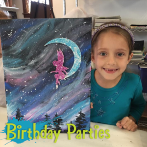 Birthday Parties at the Art Studio