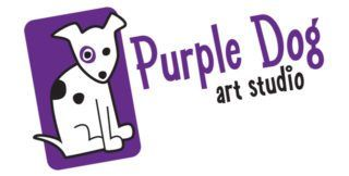 Purple Dog Art Studio Logo