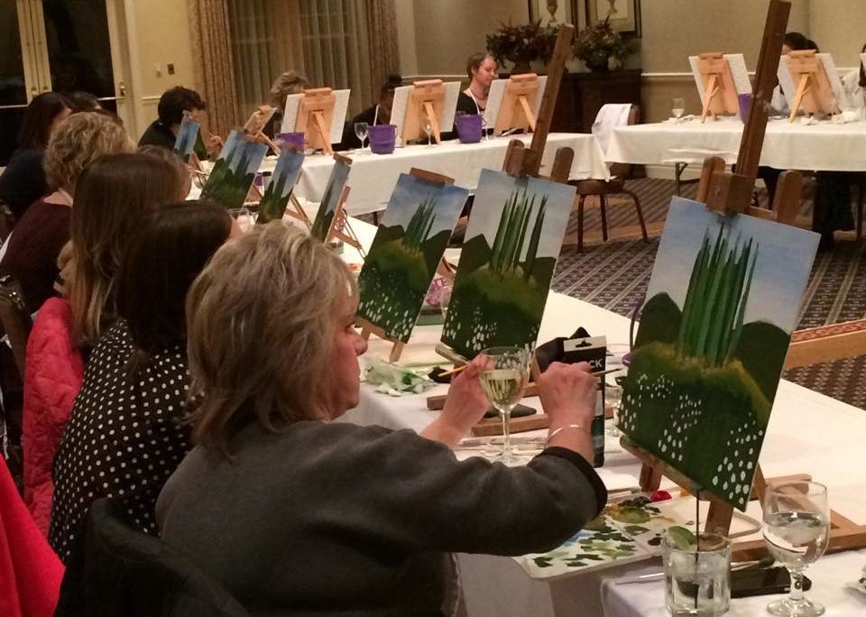 Painting Class for Grown Ups
