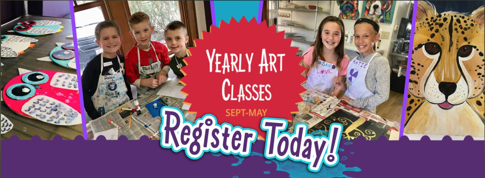 Yearly Art Classes