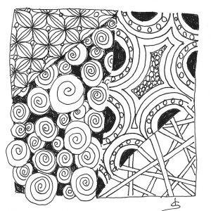 Basic Zentangle